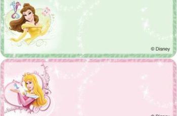imagenes de etiquetas escolares para niñas
