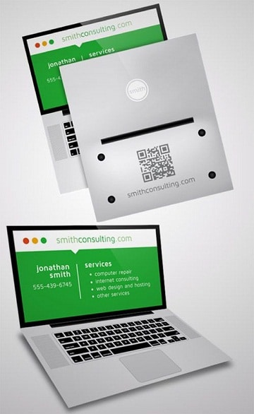 imagenes de tarjetas de presentacion de informatica