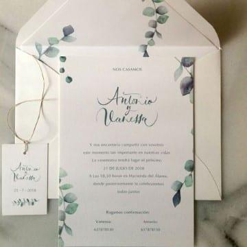 invitaciones de boda en español formal