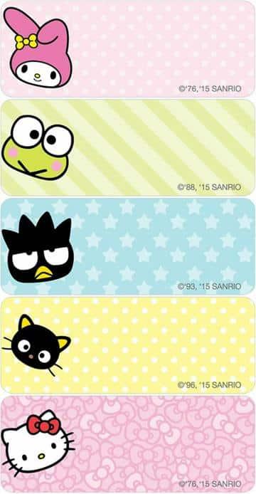 las mejores etiquetas para cuadernos de niñas