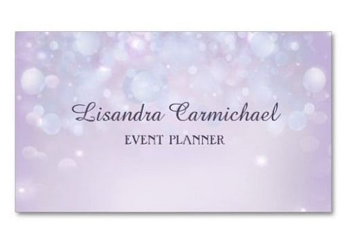 modelos de tarjetas de organizadores de eventos