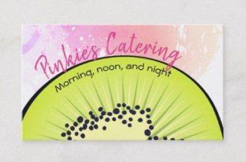 tarjetas de presentacion catering creativas