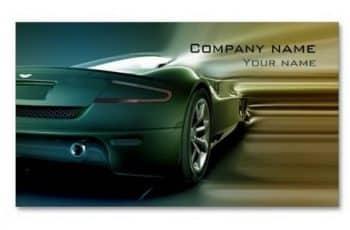tarjetas de presentacion de autos fondos