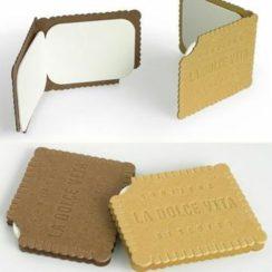 tarjetas de presentacion de galletas creativo