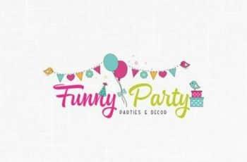 tarjetas de presentacion de globos fiesta