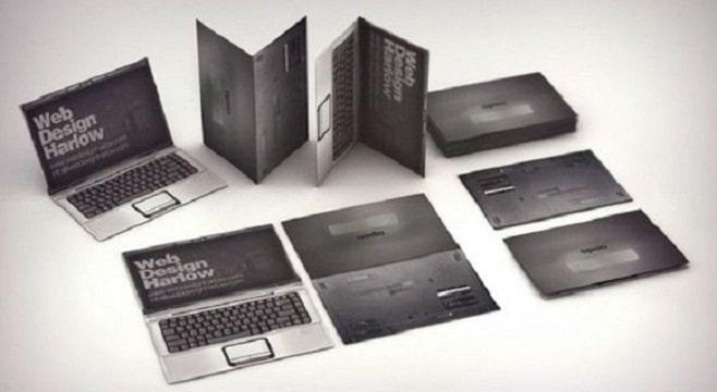 tarjetas de presentacion de informatica modernas