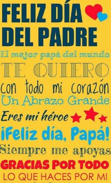 afiches del dia del padre para imprimir