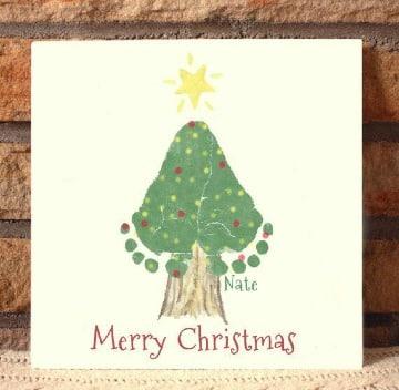 como hacer tarjetas navideñas originales con niños
