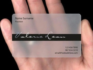 diseños de tarjetas de presentacion elegantes