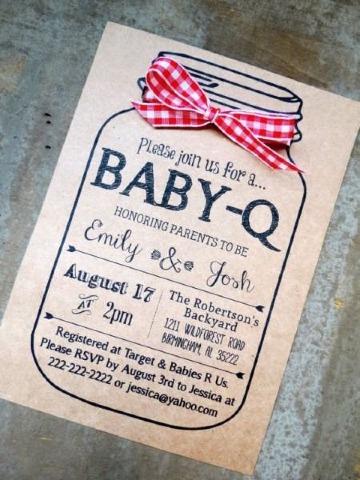 imaganes de modelos de tarjetas para baby shower