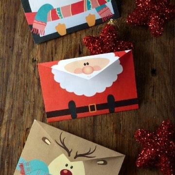 imagenes de como hacer una carta de navidad