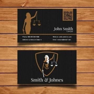 imagenes de tarjetas de presentacion abogados