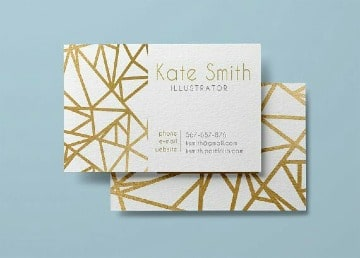 modelos de tarjetas de presentacion elegantes