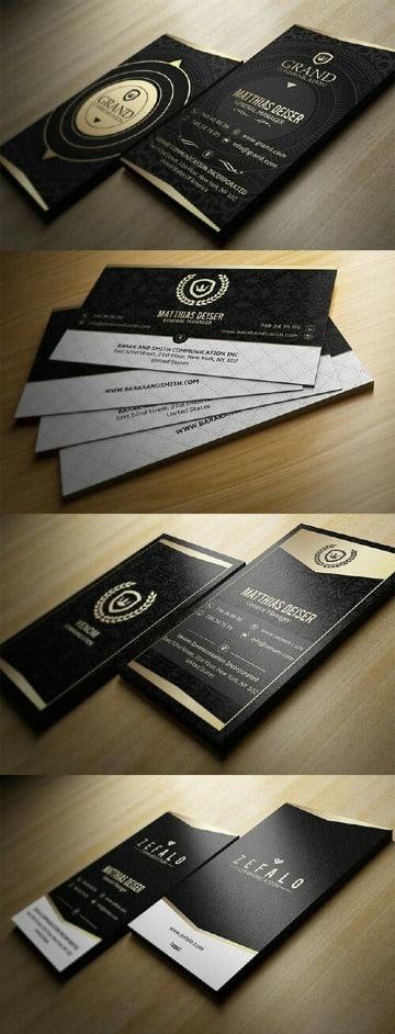 originales tarjetas de presentacion elegantes
