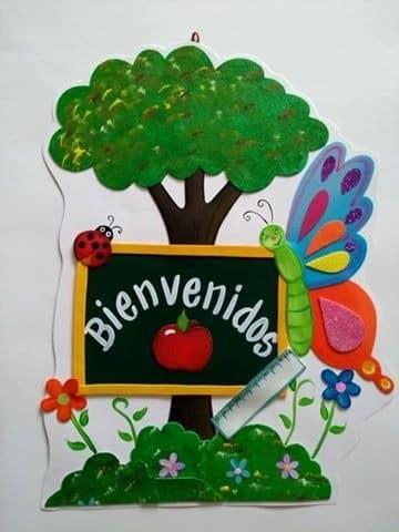 imaganes de carteles de bienvenida para niños