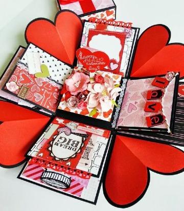 imagenes de caja explosiva de amor