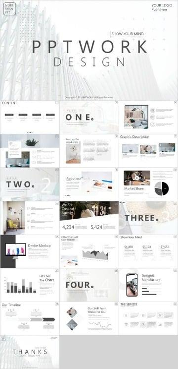 modelos de presentaciones creativas para exposiciones