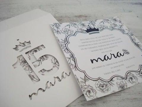 Geniales Diseños De Tarjetas De Invitacion Para 15 Años