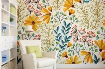 papel decorativo para pared de casa