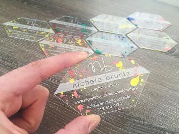 tarjetas de presentacion modernas y elegantes