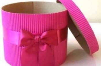 cajas de carton corrugado para regalo
