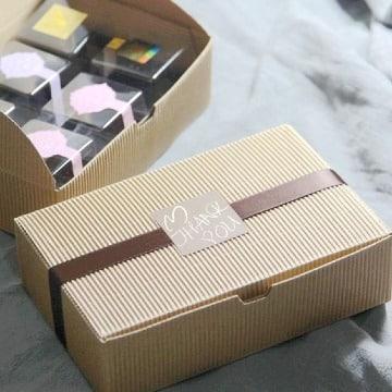 cajas de carton corrugado sencillas