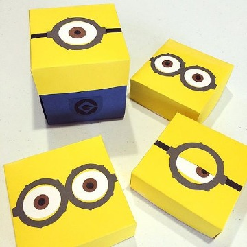 cajas de carton para regalo para niños