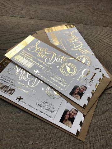 creativos modelos de invitaciones de boda