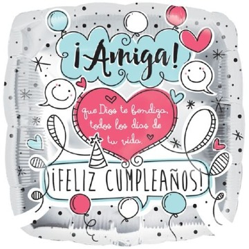 imagenes de postales de cumpleaños para una amiga