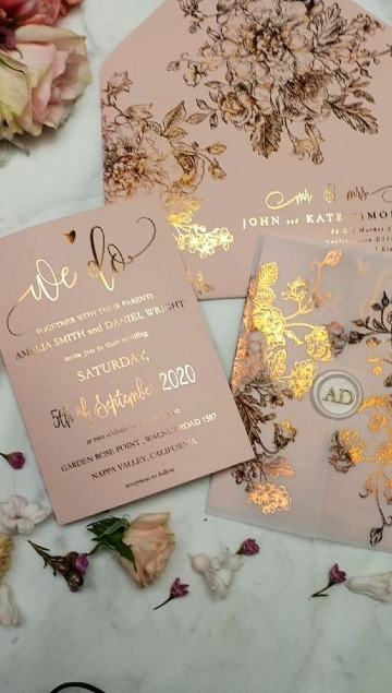 imagenes de tarjetas de invitacion elegantes
