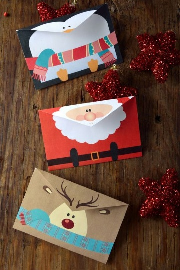 tarjetas de invitacion navideñas 2019