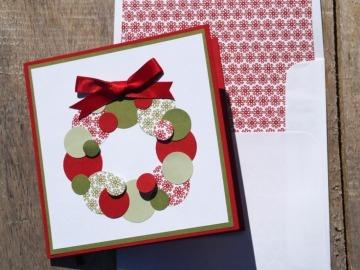 tarjetas navideñas hechas a mano paso a paso