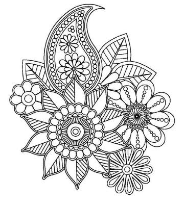 dibujos de mandalas para colorear e imprimir
