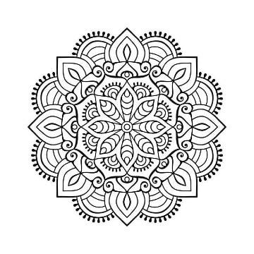 imagenes de mandalas para colorear e imprimir