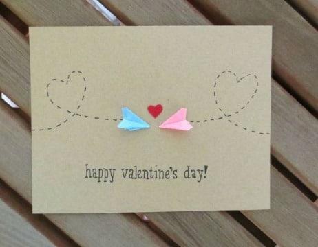 tarjetas del día del amor y la amistad faciles de hacer