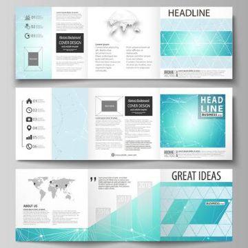 flyers creativos editables practicos
