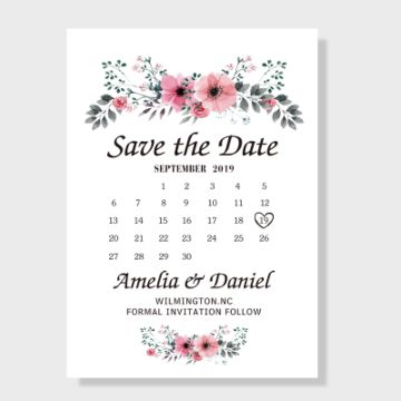 tarjetas de matrimonio 2019 diseños