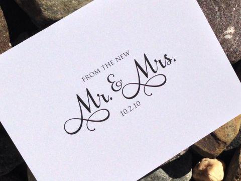 tarjetas de matrimonio elegantes letras especiales
