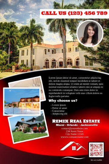 volantes publicitarios de inmobiliarias llamativos