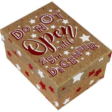 cajas de regalo navideñas decorada