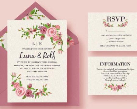 hacer tarjetas de boda online rustica