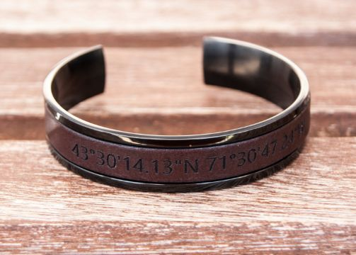 regalos personalizados para hombres pulseras