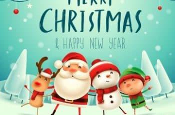 tarjetas de navidad para amigos animadas
