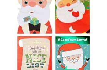 tarjetas navideñas de santa claus imagenes coloridas