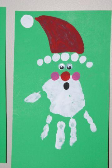 tarjetas navideñas para niños manuales
