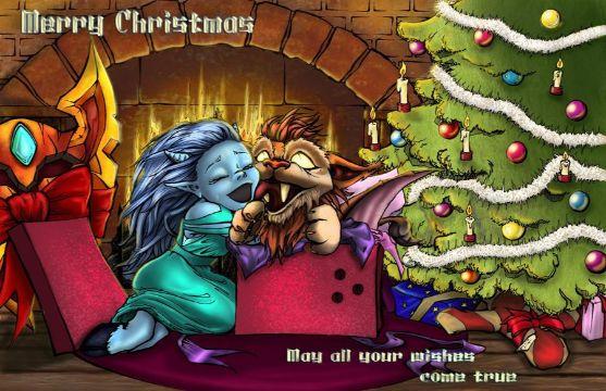 tarjetas virtuales de navidad divertidas