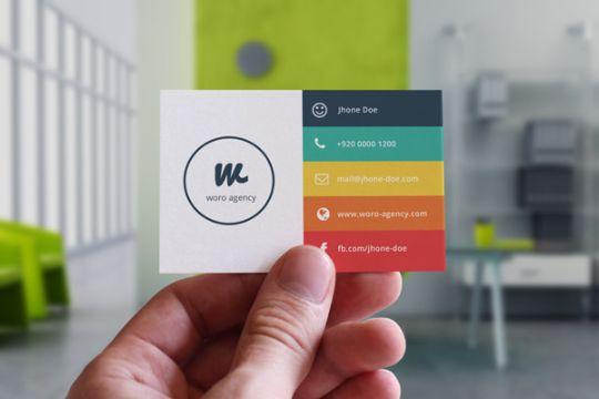 tarjeta de presentacion de una empresa informativas