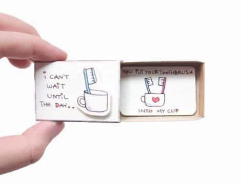 tarjetas de amor para mi novia curiosas
