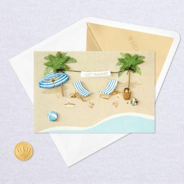 tarjetas de boda en la playa minimalistas