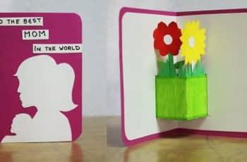 tarjetas de cumpleaños para una madre manualidades